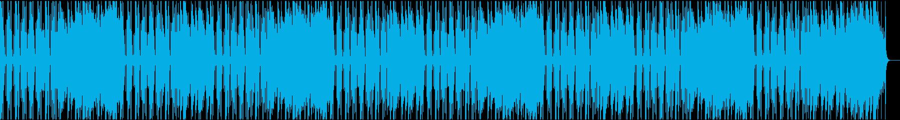 ゆったりコミカル/カラオケの再生済みの波形