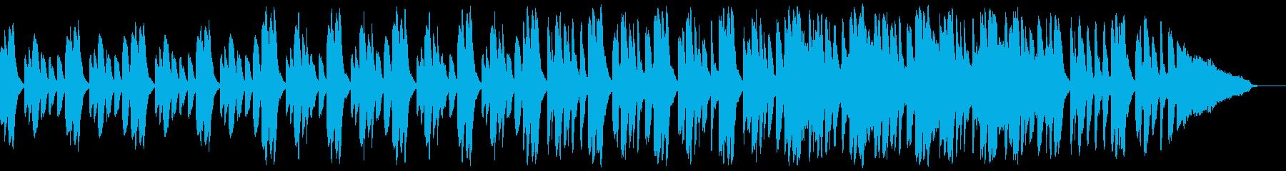 探偵が現場で考察する場面に合う不思議系曲の再生済みの波形