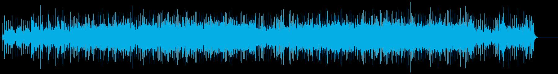 気高さとハリのあるダイナミックなポップスの再生済みの波形