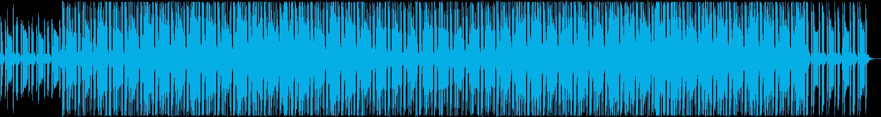 POPで爽やかなダンスミュージックの再生済みの波形