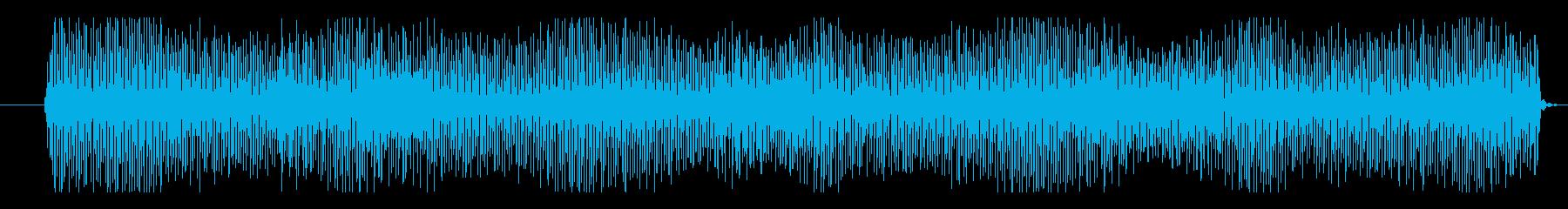 フィクション 実用性 抽象シンセ01の再生済みの波形