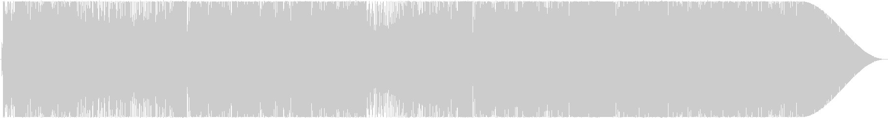 CANDY POPの未再生の波形