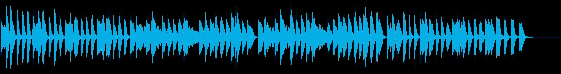 シューマン 可愛く元気なピアノ曲 高音質の再生済みの波形