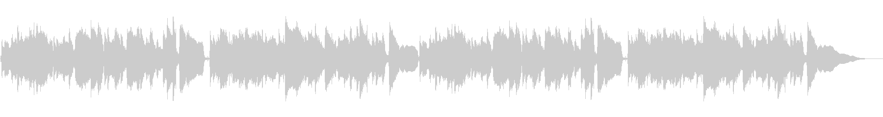ほのぼのとした雰囲気のアコギソロの未再生の波形