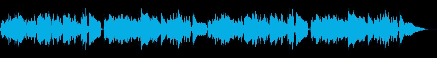 ほのぼのとした雰囲気のアコギソロの再生済みの波形