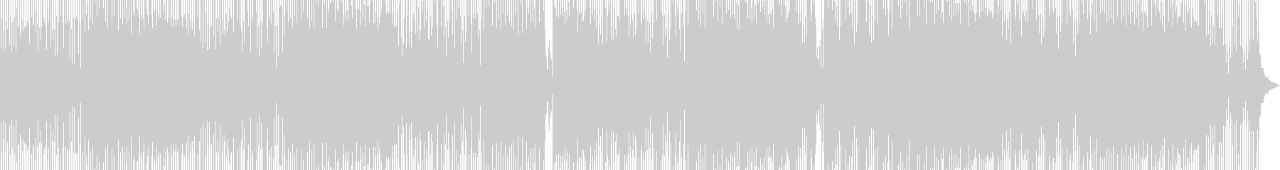 古代幻想的ミニマルテックダブの未再生の波形