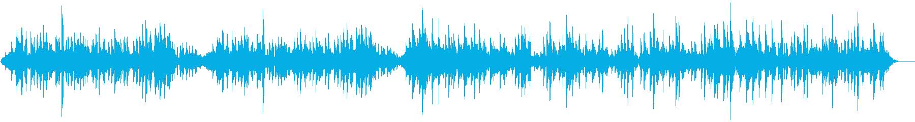 Fashionable samba for guitar and flute's reproduced waveform
