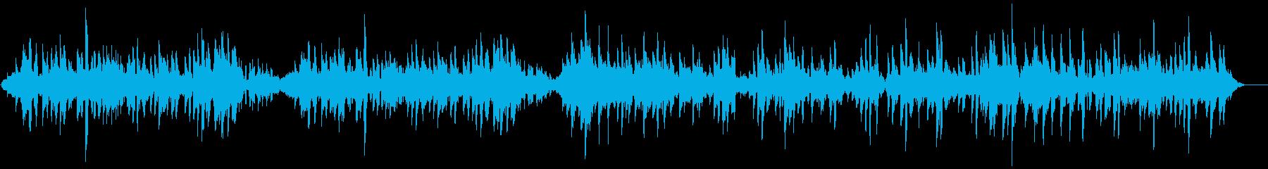 ギターとフルートのオシャレなサンバの再生済みの波形