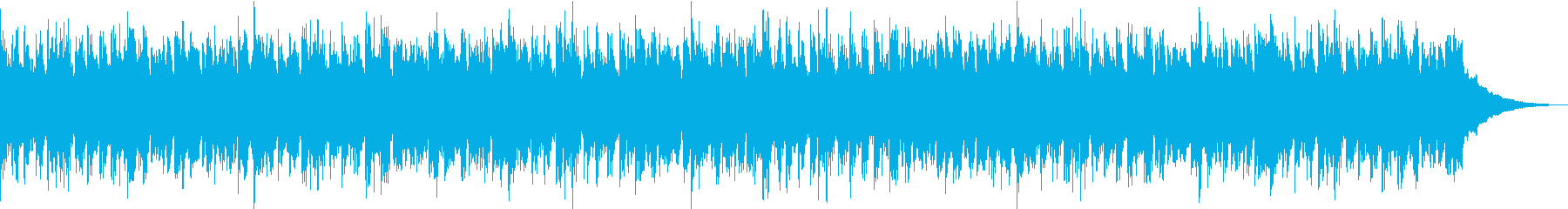 浮遊感のあるゆったりしたEDMの再生済みの波形