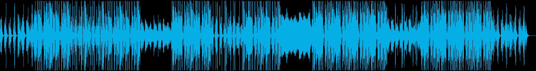 洋楽テイストのポップR&B BGMの再生済みの波形