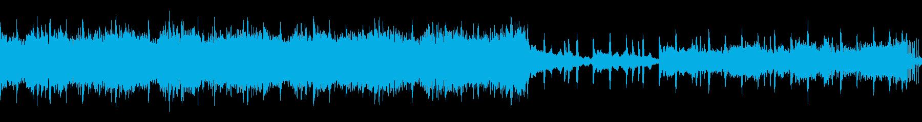【ループ】壮大なクラップ&足踏みアンセムの再生済みの波形