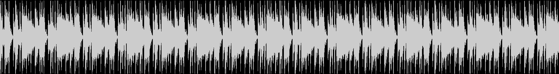 スピード感を演出したい時のドラムループの未再生の波形