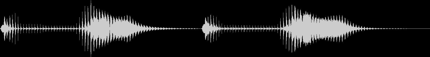 プニョプニョの未再生の波形