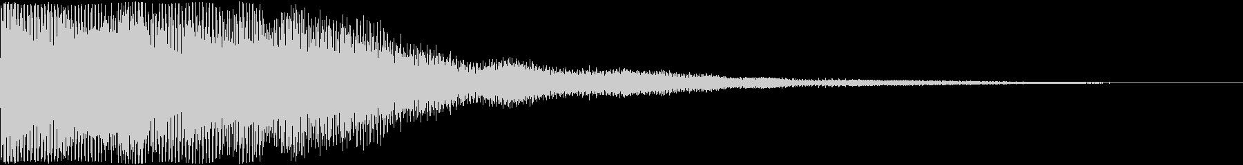 シンセパッドのSFX_02の未再生の波形