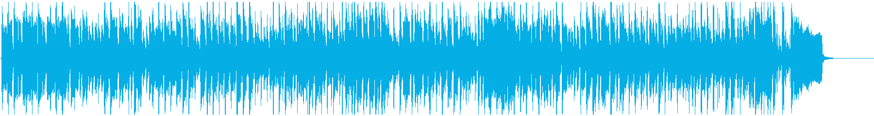 めちゃくちゃノリノリな早いファンキー曲!の再生済みの波形