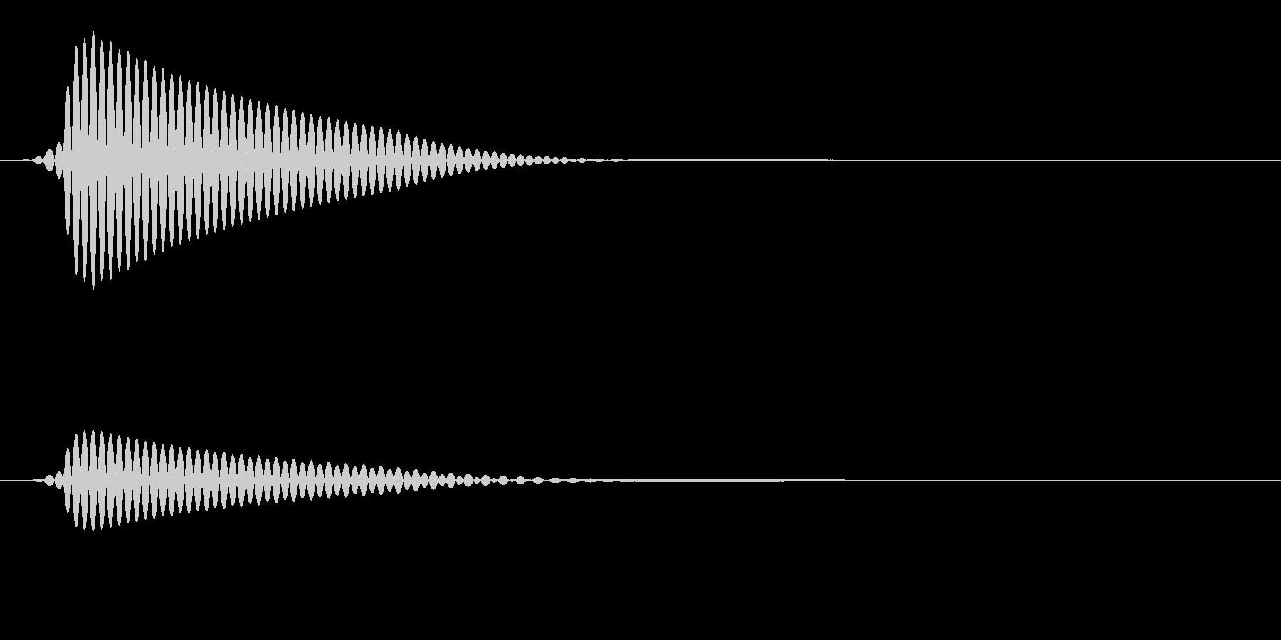 ポンッ(タムタム08)の未再生の波形