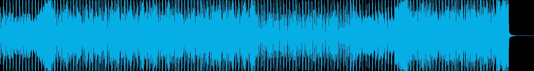 ポップ アクション バックグラウン...の再生済みの波形