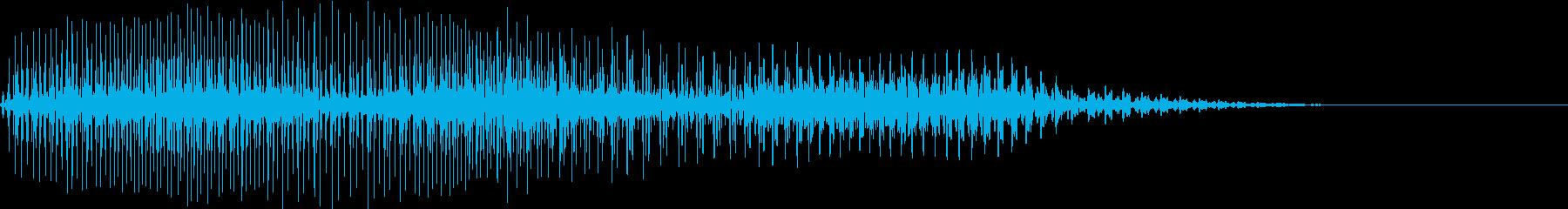 Game エンストやクラッシュの音の再生済みの波形