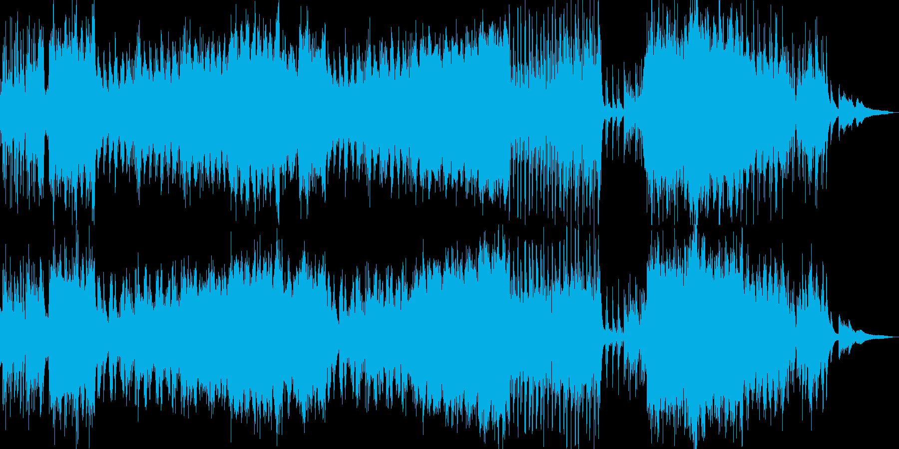 夏の癒し・感動的なイージーリ… ドラム無の再生済みの波形