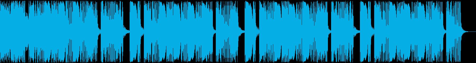 【アンビエント】ロング2、ショート3の再生済みの波形