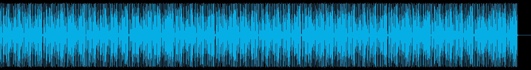 ほのぼのCM系BGM(マリンバ)の再生済みの波形