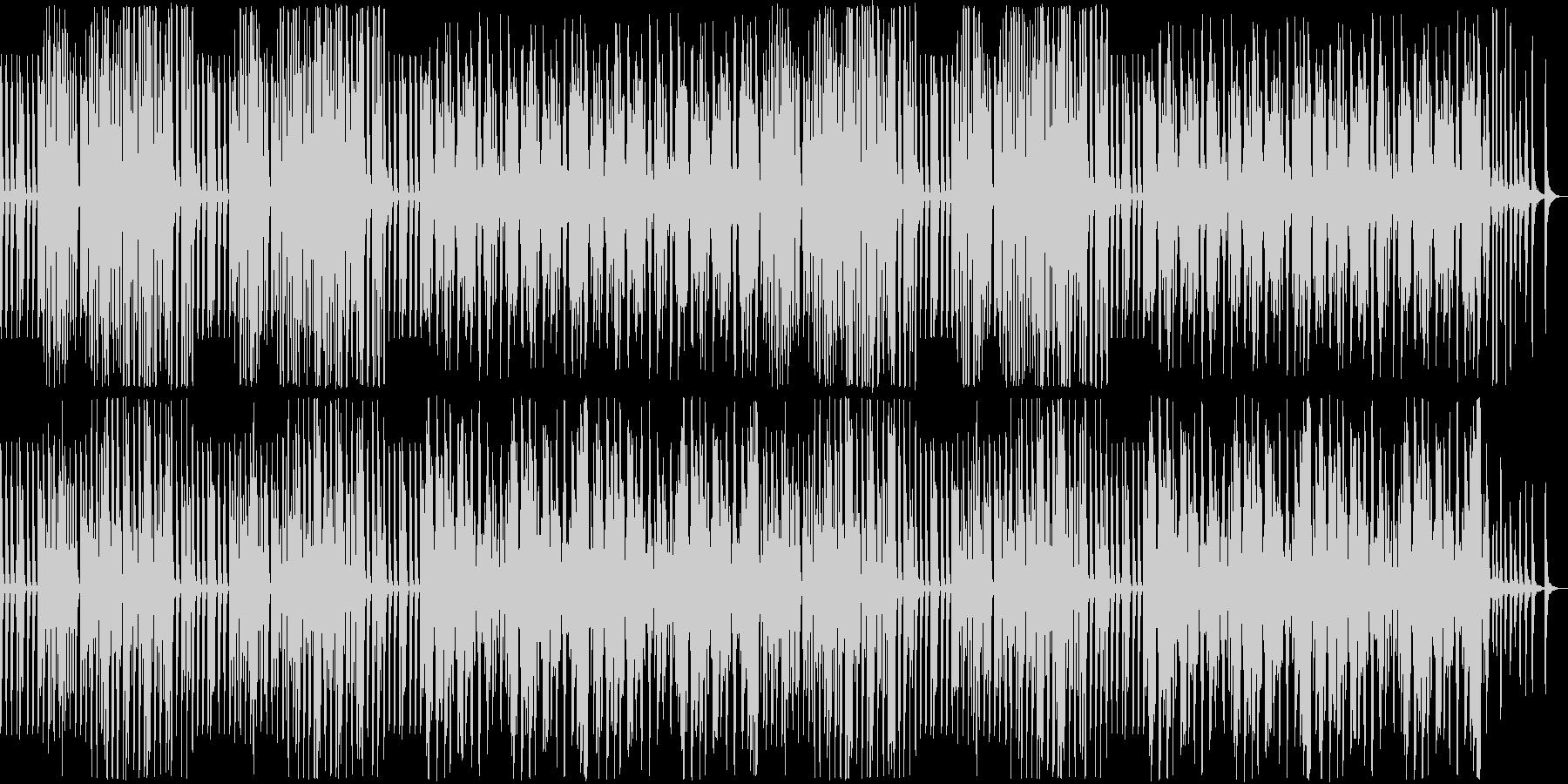 バイオリンとピアノ。タンゴ調の未再生の波形