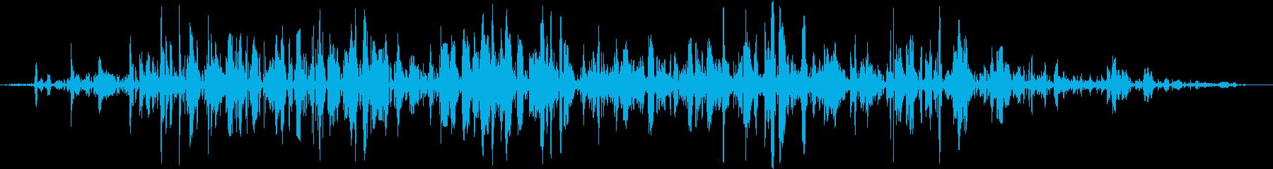 ミュージカルイオン化水魔法、呪文、...の再生済みの波形