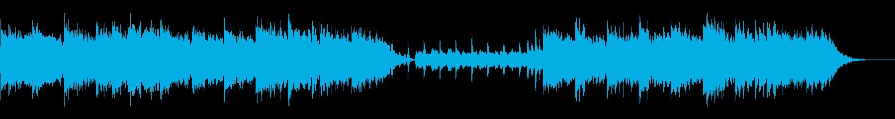 森の動物たちをイメージした神秘的な曲の再生済みの波形