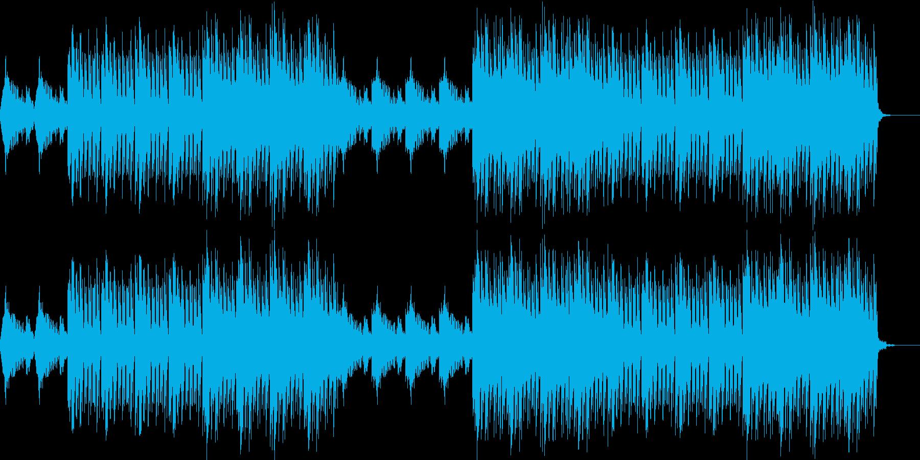 おしゃれ・エスニック・EDM・透明感の再生済みの波形