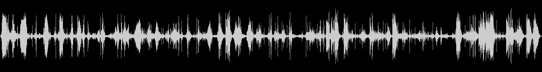 ザザーン (波の音、近く)の未再生の波形