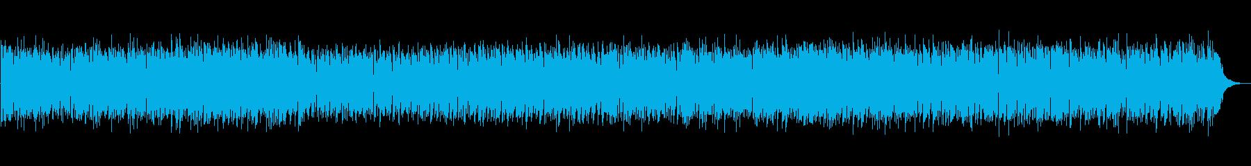 ほのぼのしたボサノバの再生済みの波形