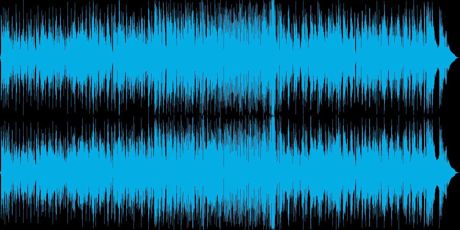 スタイリッシュなギターソロフュージョンの再生済みの波形