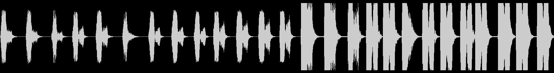 サブ周波数ブームトラック:低音のガ...の未再生の波形