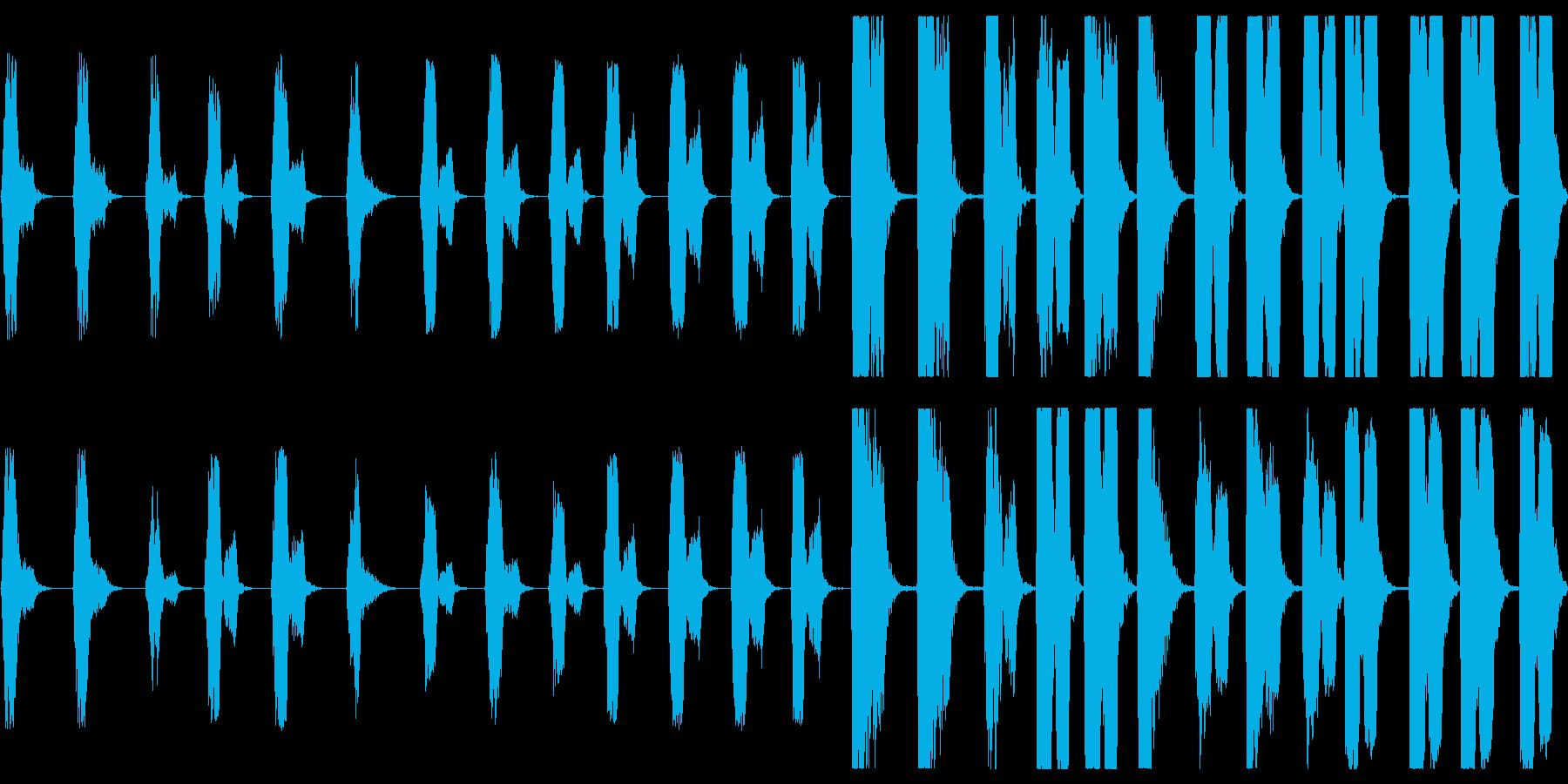 サブ周波数ブームトラック:低音のガ...の再生済みの波形