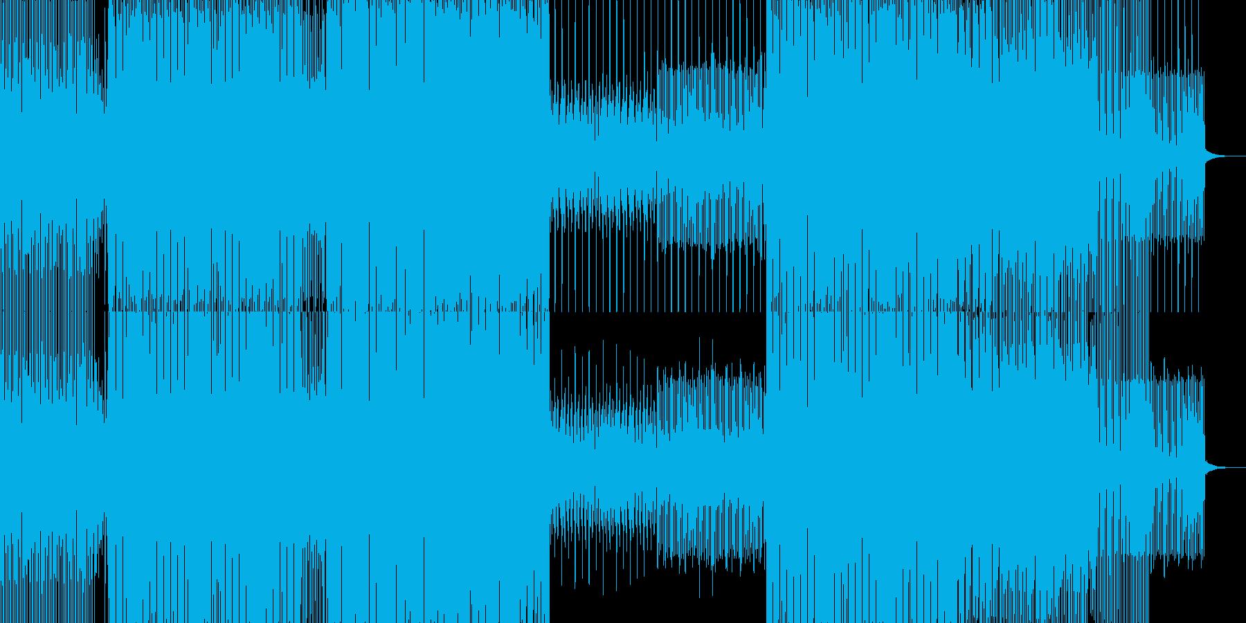 淡々として曇ったダークなテクノの再生済みの波形
