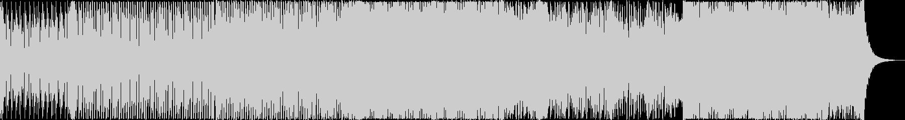 アップリフティングなデジタルロックの未再生の波形