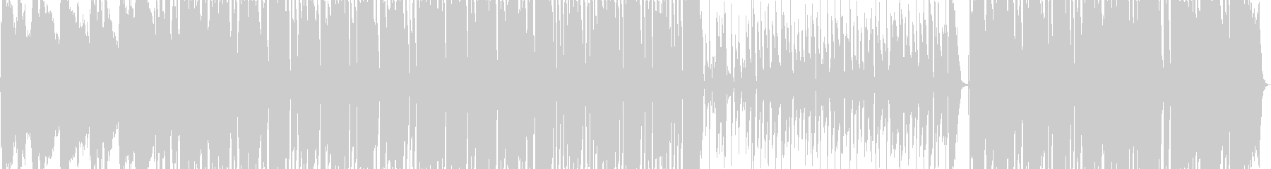 伝統的なジャズ ビバップ ディキシ...の未再生の波形