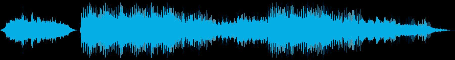 エアリアル アクション 説明的 a...の再生済みの波形