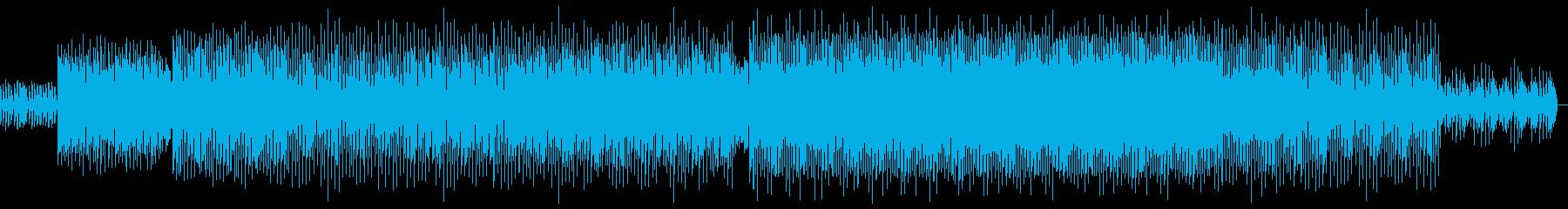 少し控えめなEDMの再生済みの波形