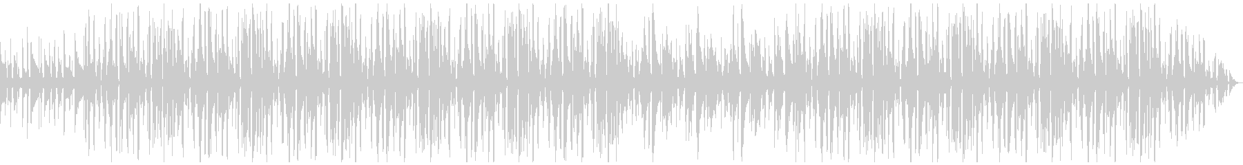 アコギが印象的なローファイヒップホップの未再生の波形