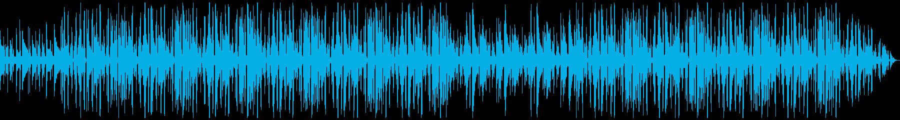 アコギが印象的なローファイヒップホップの再生済みの波形