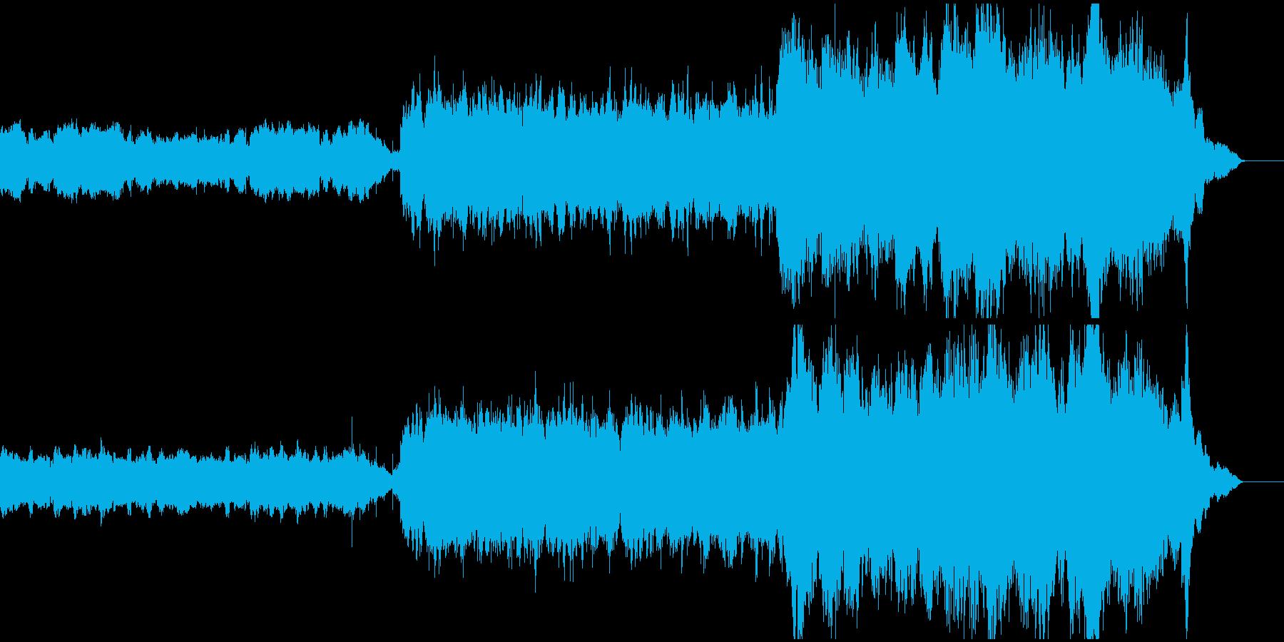 バグパイプとオーケストラのアメイジングの再生済みの波形
