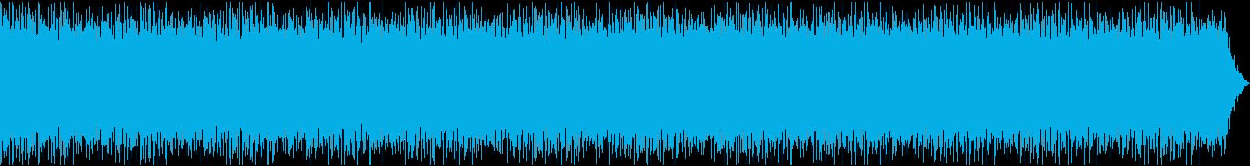 企業・会社の広報、PR動画 明るいBGMの再生済みの波形