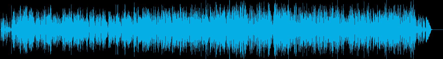 標準ジャズ。ウォーキングベース。の再生済みの波形