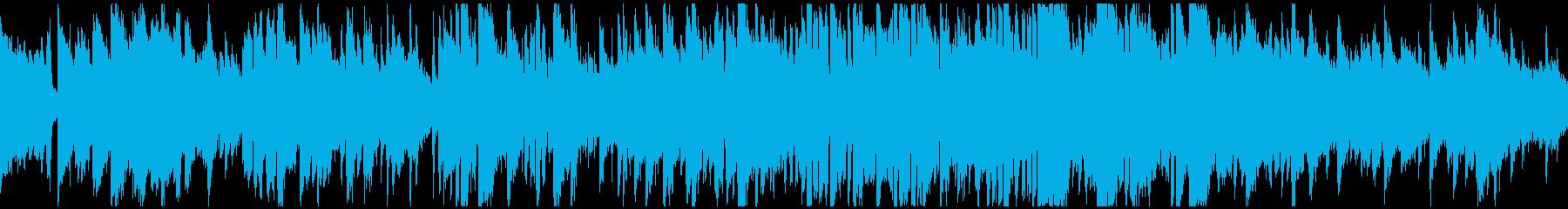 静かな波のようなボサノバ ※ループ仕様版の再生済みの波形