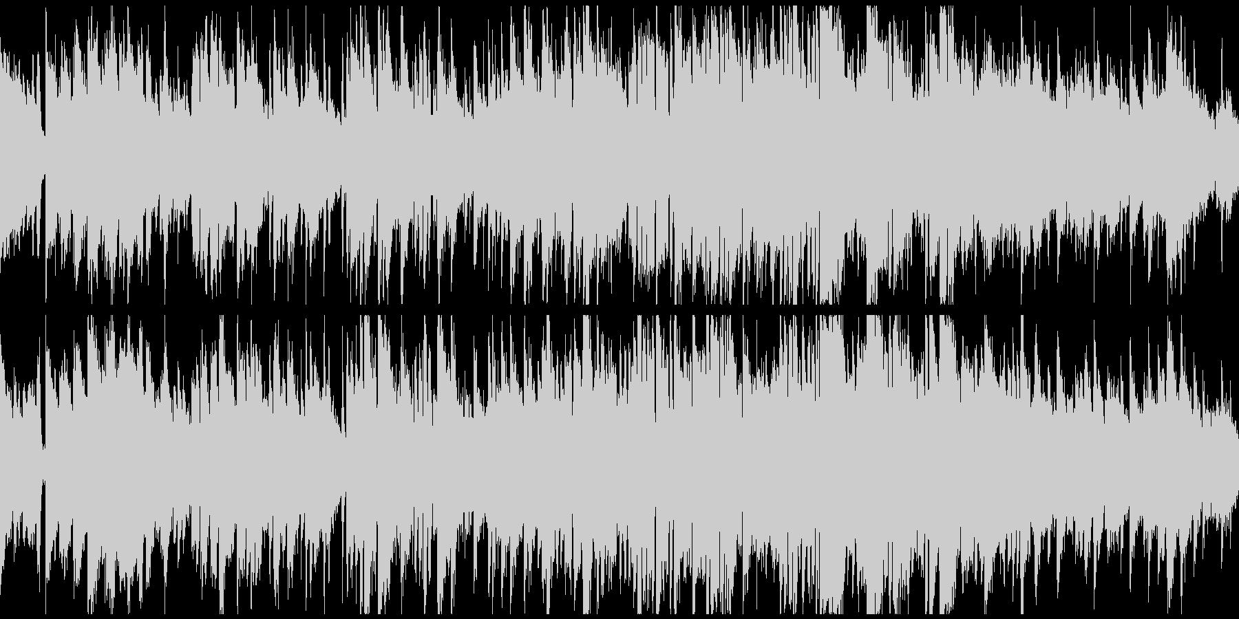 静かな波のようなボサノバ ※ループ仕様版の未再生の波形