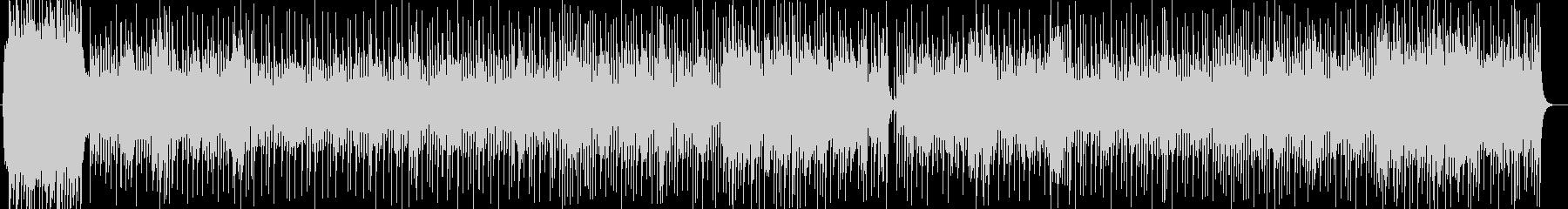 華やかで盛大なシンセサイザーサウンドの未再生の波形