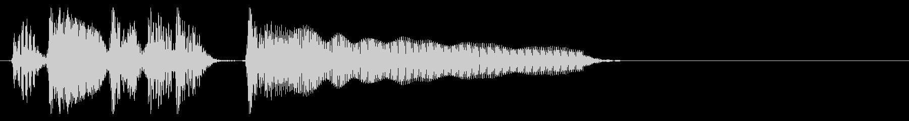JAZZ BASS 切り替え場面用の未再生の波形