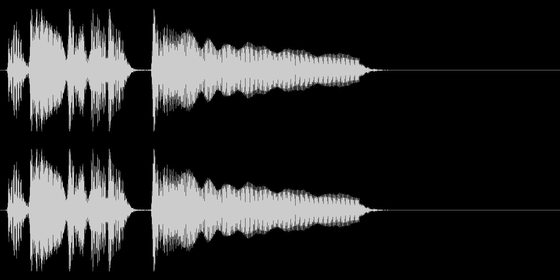 アップライトベース 場面切り替わる2の未再生の波形