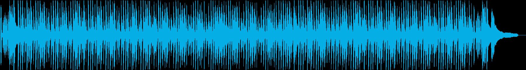 「ジングルベル」ライトジャズバージョンの再生済みの波形